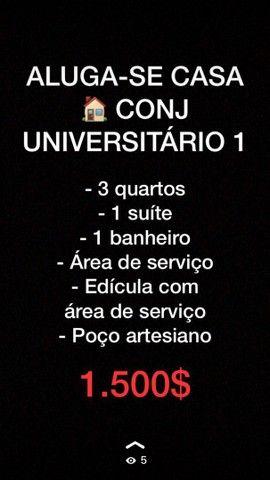 ALUGA SE CASA UNIVERSITARIO 1