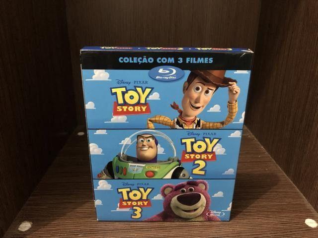 vendo coleçao box blu-ray do toy story - Foto 3