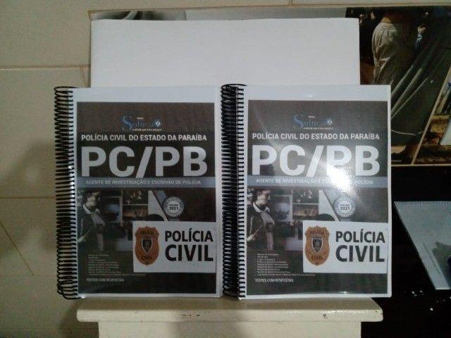 Apostila do Concurso da PCPB 2021 - Agente e Escrivão de Polícia