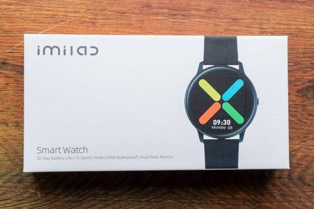 Smartwatch Xiaomi Imilab Kw66 Preto - Foto 4