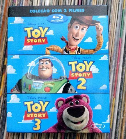 vendo coleçao box blu-ray do toy story - Foto 2