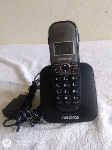 Telefone Sem Fio Intelbras Com Viva Voz E Id Ts5120