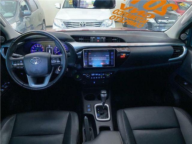 Toyota Hilux 2.7 Srv 4x2 C.dupla Flex+Gnv  Automático 2017!!! - Foto 13