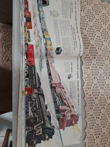 Trem lionel 1957 catalago - Foto 5