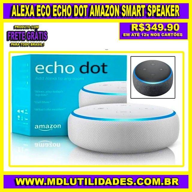Alexa Eco Echo Dot Amazon Terceira Geração