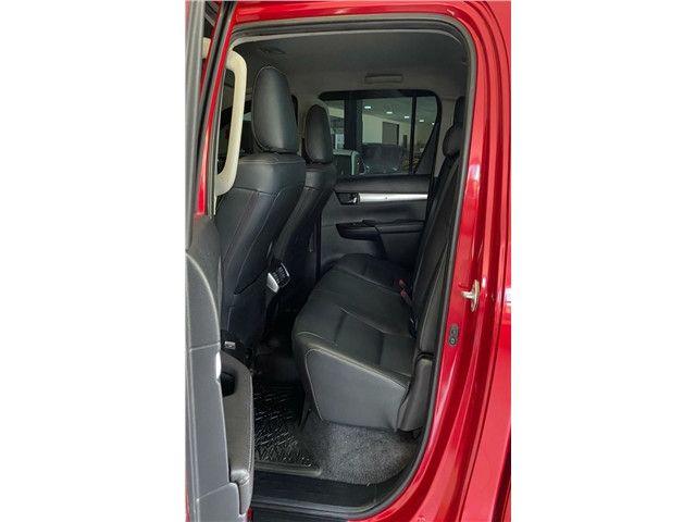 Toyota Hilux 2.7 Srv 4x2 C.dupla Flex+Gnv  Automático 2017!!! - Foto 10