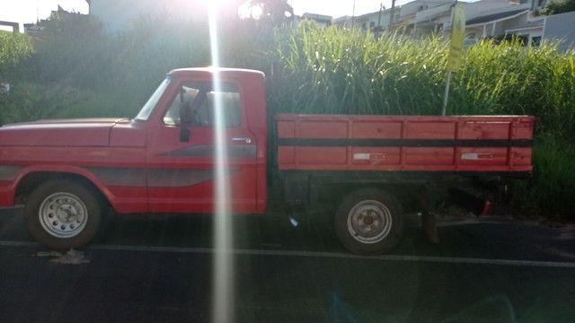 Vendo ou troco f100 diesel - Foto 5