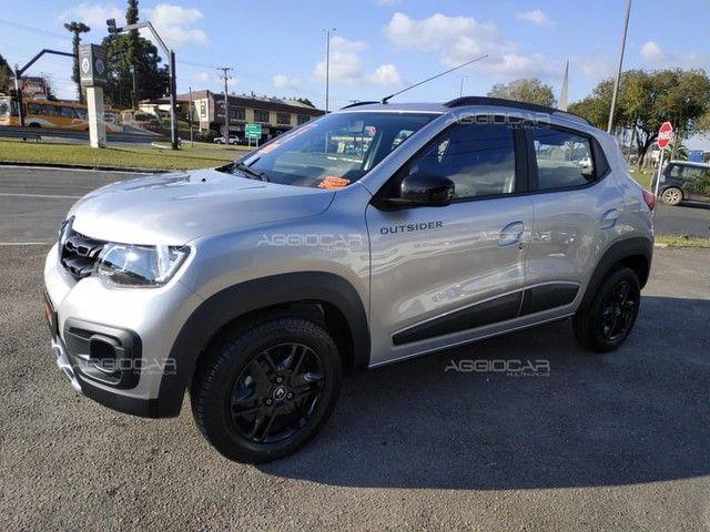 Renault KWID OUTSIDER 1.0 2021 700 km ipva pago - Foto 3