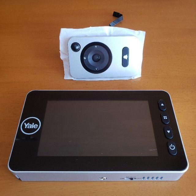 Olho Mágico Digital Câmera Segurança Auto Imaging Yale - Foto 3