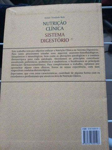 Livro de nutrição clínica sistema digestório - Foto 2