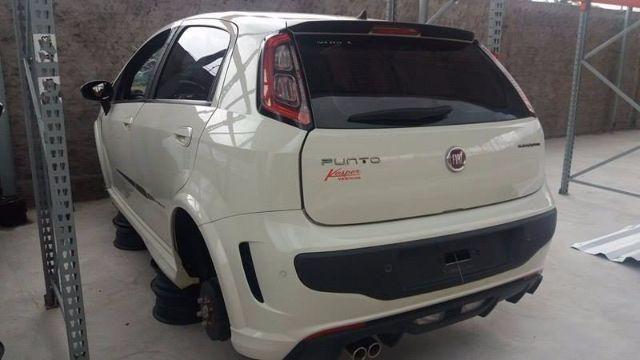 Peças usadas Fiat Punto BlackMotion 2015 aut - Foto 3