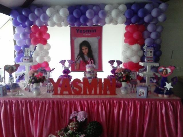 Decoração de Festas de Aniversário teen para as meninas - MariaFumaçaFestas (DF)