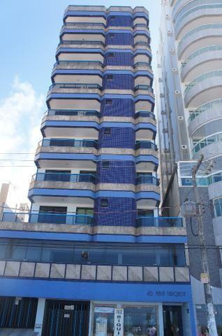 Apt. 3 quartos, Praia do Morro, frente para a Praia