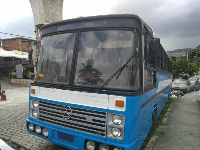 Ônibus 1983 mercedes 45 lugares motor show - Foto 3