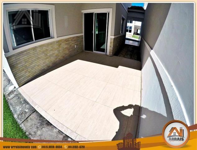 Vendo casa Duplex em Condomínio c/ 3 suites no Eusébio - Foto 8