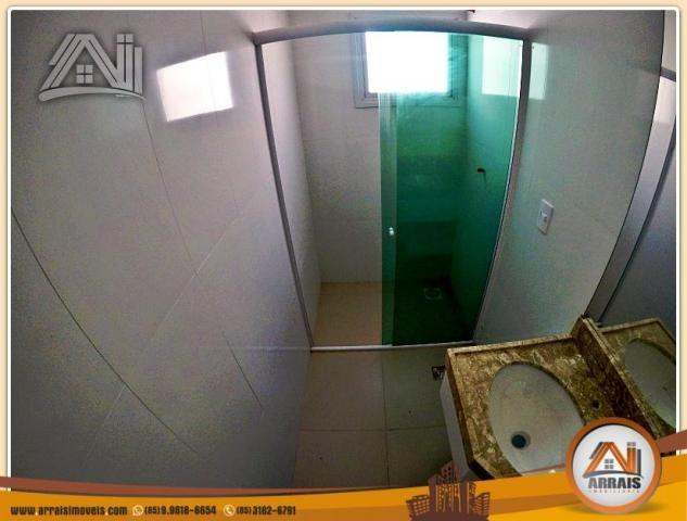 Vendo casa Duplex em Condomínio c/ 3 suites no Eusébio - Foto 11