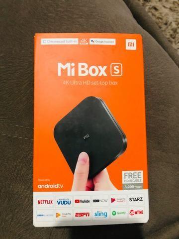 Mi box S 4K ultra HD
