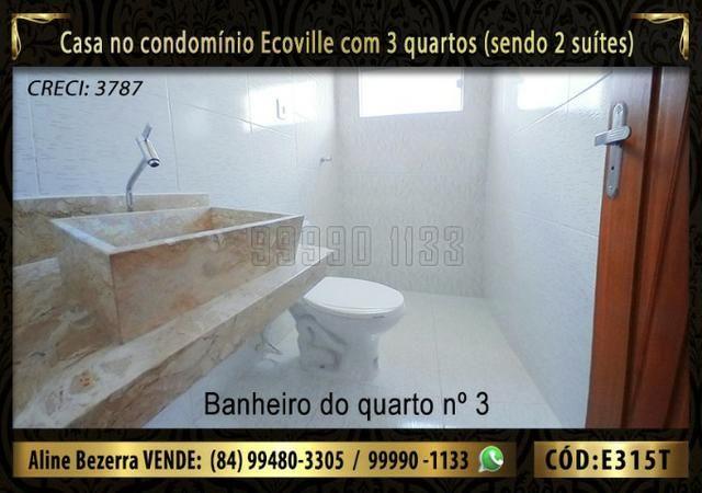 Oportunidade, casa no Ecoville com 3 quartos sendo 2 suítes, aceita financiamento - Foto 13