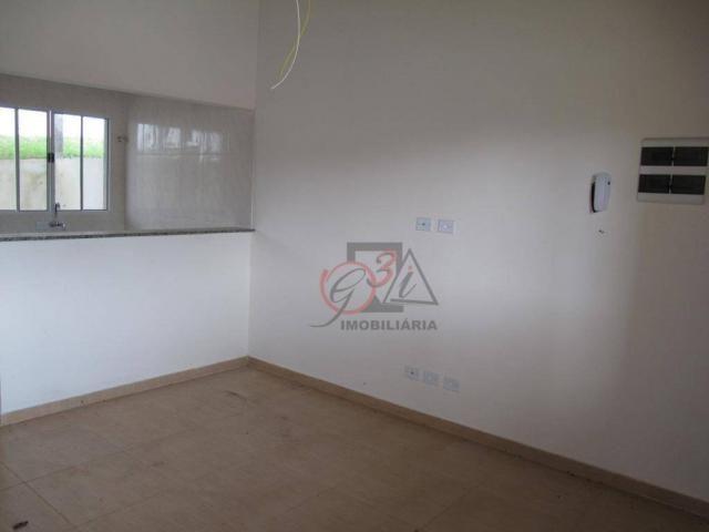 Casa nova 2 dormitorios, 1 suite, 2 vagas, piscina, em condominio Km 44 da Raposo. - Foto 5