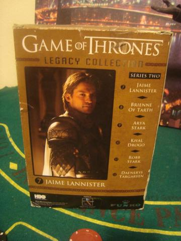 Action figure game of thrones jaime lannister legacy collection funko - Foto 5