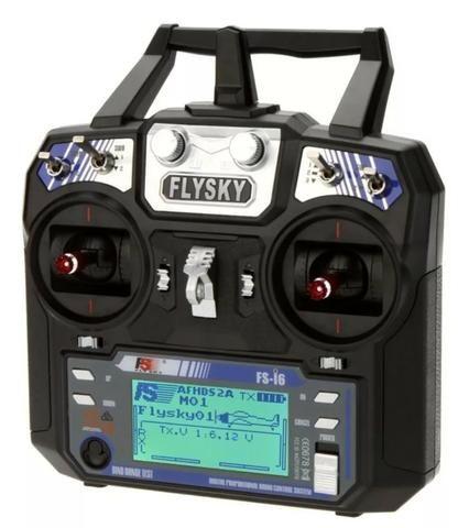Radio Controle Flysky Fs-i6 V2 06 Canais 2.4ghz com Receptor de Maior alcance - Foto 3