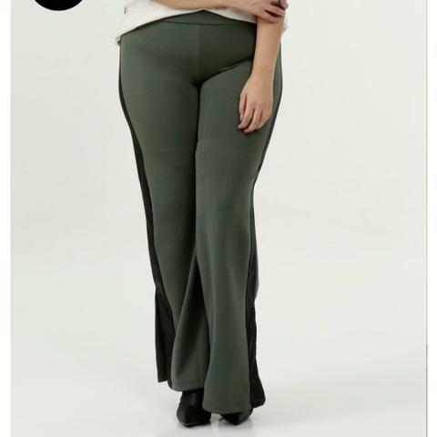 Calça Plus size verde Militar - Foto 4
