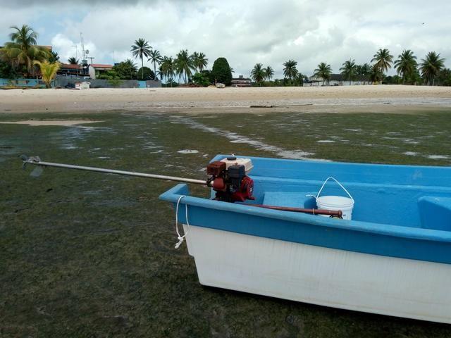 Barco de Fibra 6mt comp por 1.80 boca - Foto 2