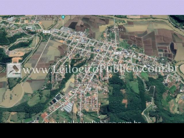 Rio Do Oeste (sc): Terreno Rural 101.343,75 M² igqje mezbv