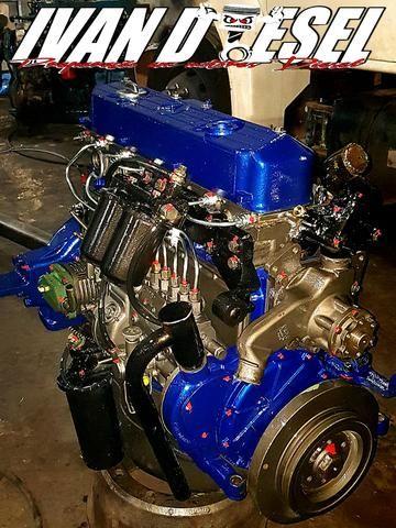 Motor OM 366A Turbo