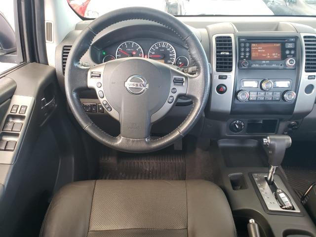 Nissan Frontier 2014 4x4 SL 190cv Extra !! - Foto 9