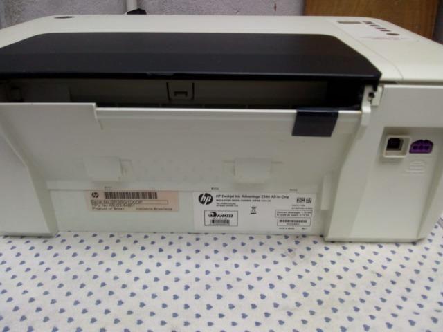 Vendo uma impressora HP multifuncional em ótimo estado de conservação - Foto 2
