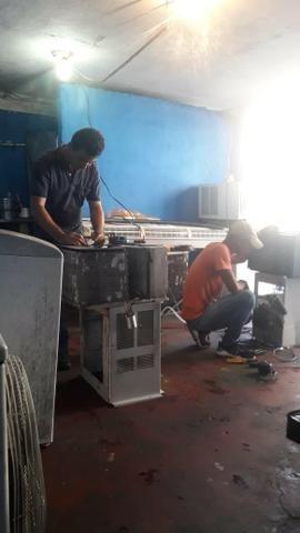 TECMAQ refrigeração assistência técnica