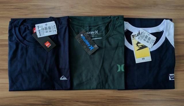 ATACADO Camisetas premium 1linha com tag - Foto 3