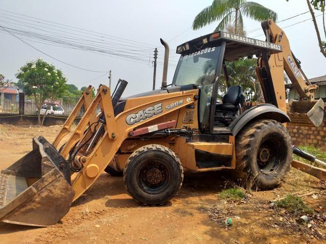 Retroscavadeira case 580N traçada 2012/13