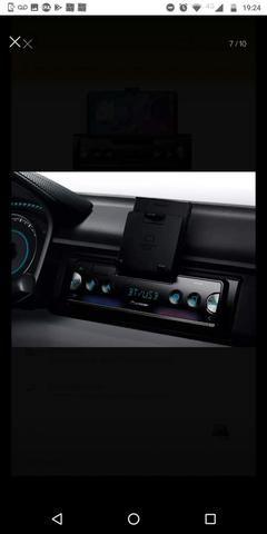 Auto Rádio Pioneer Sph - c10bt Bluetooth Smart sync - O MAIS TOP - Apenas 2 meses de uso - Foto 4