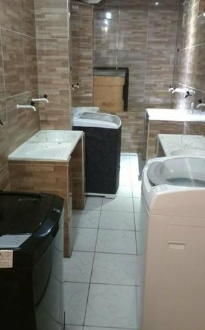Alugo casa com 2 quartos a 100 metrôs do metrô da mangueira R$500 já com a água incluso - Foto 5