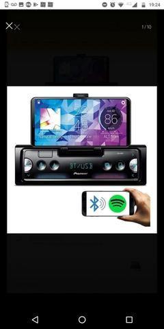 Auto Rádio Pioneer Sph - c10bt Bluetooth Smart sync - O MAIS TOP - Apenas 2 meses de uso - Foto 5