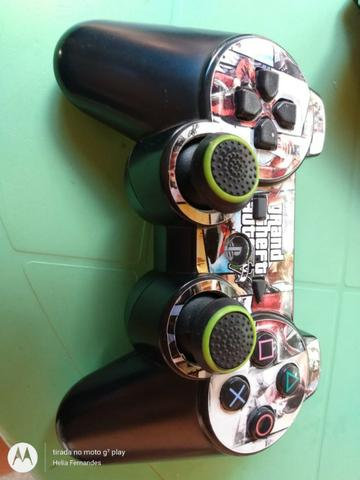 Playstation 3 com 30 jogos + 2 emuladores com 60 jogos - Foto 3