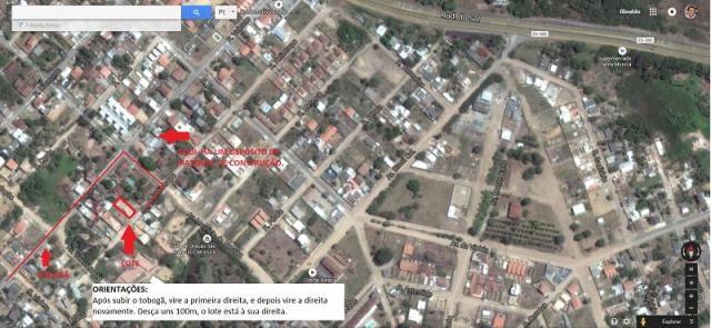 Terreno plano de 360m², Escriturado e Registrado, no Bairro Santa Mônica. Paralela a Rua d - Foto 3