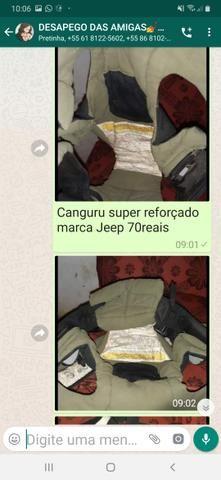Canguru marca jeep super acolchoado e conservado