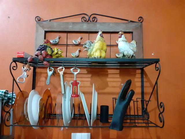 Paneleiro suporte prato rustico