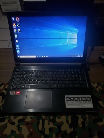 Notbook Acer Amd com placa dedicada