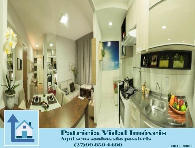 PRV56-Apartamento 2qtos com quintal programa minha casa minha vida lazer segurança total - Foto 2