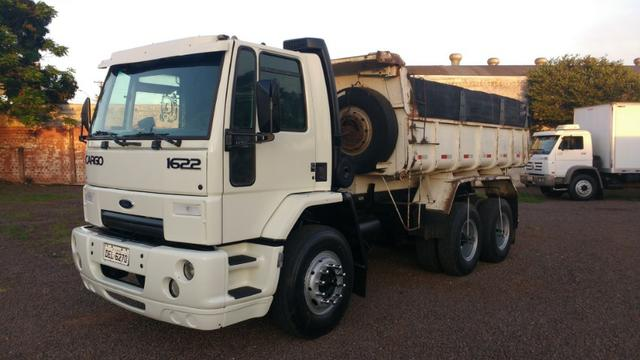 Ford Cargo 1622 truck 6x2 com caçamba Rosseti 10m3 unico dono - Foto 3