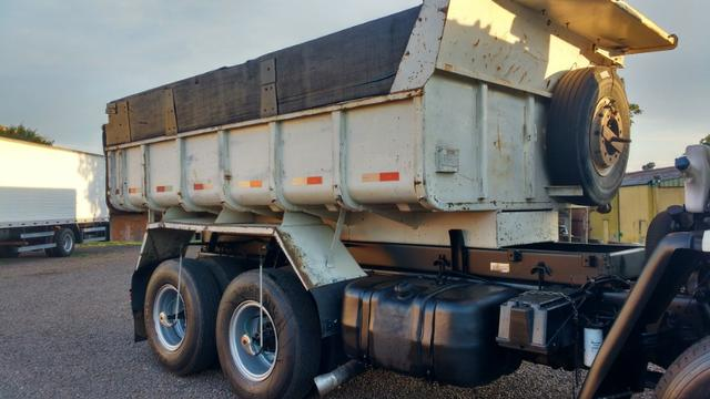 Ford Cargo 1622 truck 6x2 com caçamba Rosseti 10m3 unico dono - Foto 5