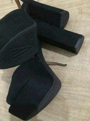 2ea2515ad Sapato feminino Vizzano salto alto plataforma - Roupas e calçados ...