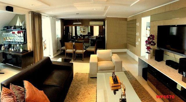Condomínio Maison Blanc, casa duplex com 3 quartos, 4 vagas, lazer completo - Foto 4