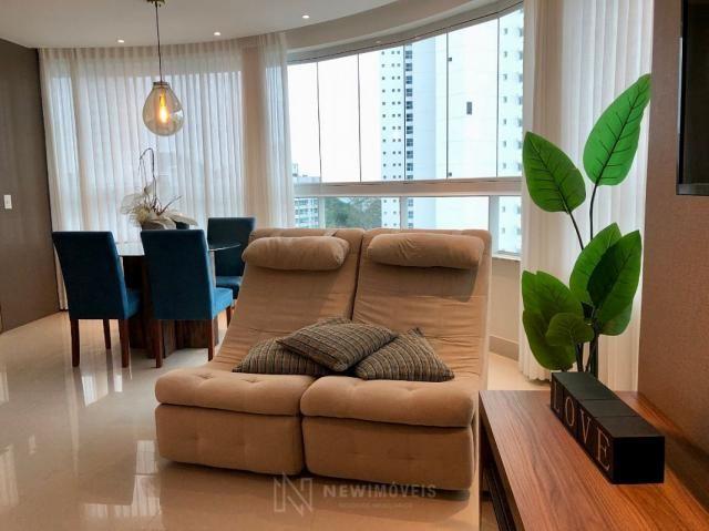***Apartamento Finamente Mobiliado com Vista Mar em Balneário Camboriú - Foto 16