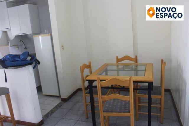 Apartamento com 1 dormitório para alugar, 40 m² por R$ 600/mês - Centro - Campos dos Goyta - Foto 3