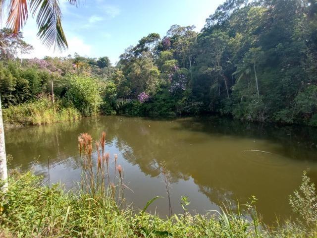 Sitio com 20.000 m²,bela casa,imenso lago e espaço para criações - Foto 7